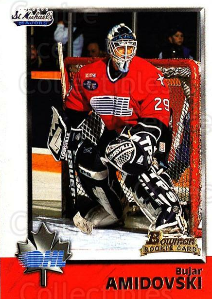 1998 Bowman CHL #32 Bujar Amidovski<br/>9 In Stock - $1.00 each - <a href=https://centericecollectibles.foxycart.com/cart?name=1998%20Bowman%20CHL%20%2332%20Bujar%20Amidovski...&quantity_max=9&price=$1.00&code=65744 class=foxycart> Buy it now! </a>