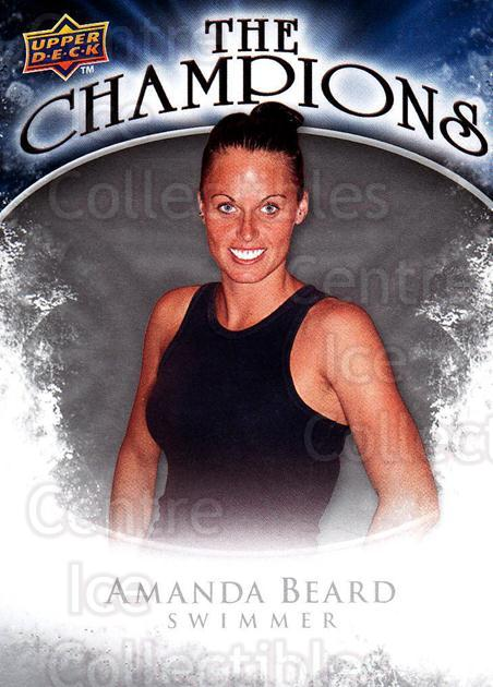 2009-10 Upper Deck The Champions #CHAB Amanda Beard<br/>1 In Stock - $2.00 each - <a href=https://centericecollectibles.foxycart.com/cart?name=2009-10%20Upper%20Deck%20The%20Champions%20%23CHAB%20Amanda%20Beard...&quantity_max=1&price=$2.00&code=657461 class=foxycart> Buy it now! </a>
