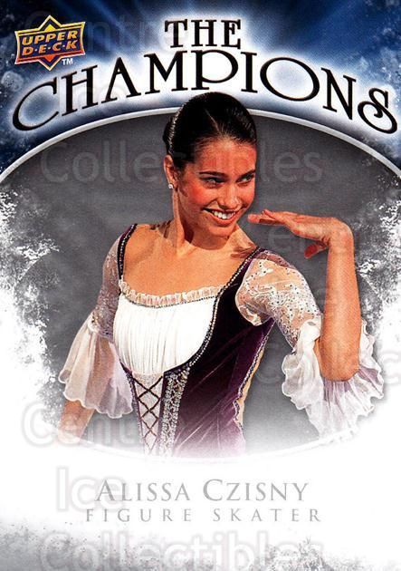 2009-10 Upper Deck The Champions #CHAC Alissa Czisny<br/>1 In Stock - $2.00 each - <a href=https://centericecollectibles.foxycart.com/cart?name=2009-10%20Upper%20Deck%20The%20Champions%20%23CHAC%20Alissa%20Czisny...&quantity_max=1&price=$2.00&code=657462 class=foxycart> Buy it now! </a>