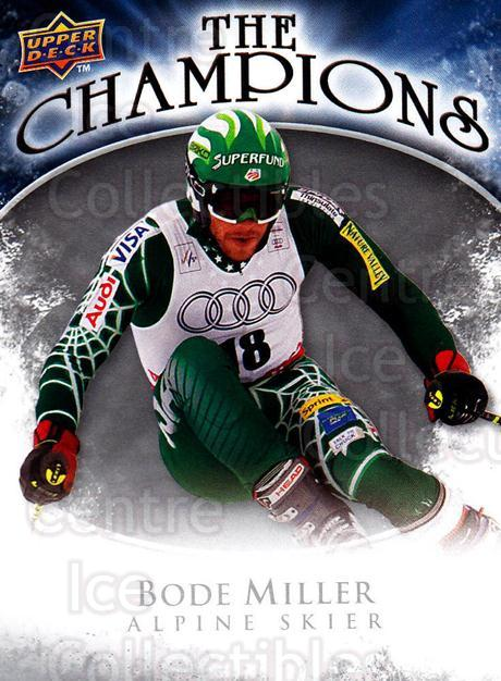 2009-10 Upper Deck The Champions #CHBM Bode Miller<br/>1 In Stock - $2.00 each - <a href=https://centericecollectibles.foxycart.com/cart?name=2009-10%20Upper%20Deck%20The%20Champions%20%23CHBM%20Bode%20Miller...&quantity_max=1&price=$2.00&code=657466 class=foxycart> Buy it now! </a>
