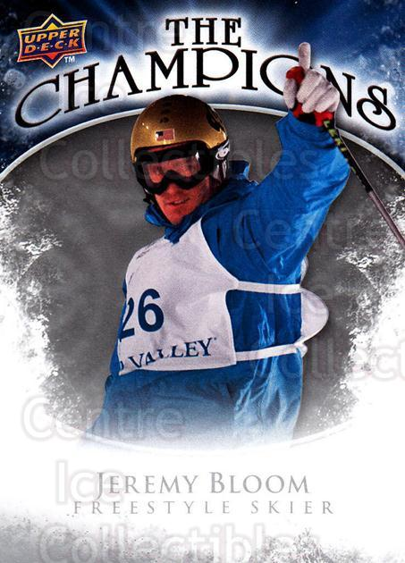 2009-10 Upper Deck The Champions #CHJE Jeremy Bloom<br/>1 In Stock - $2.00 each - <a href=https://centericecollectibles.foxycart.com/cart?name=2009-10%20Upper%20Deck%20The%20Champions%20%23CHJE%20Jeremy%20Bloom...&quantity_max=1&price=$2.00&code=657480 class=foxycart> Buy it now! </a>