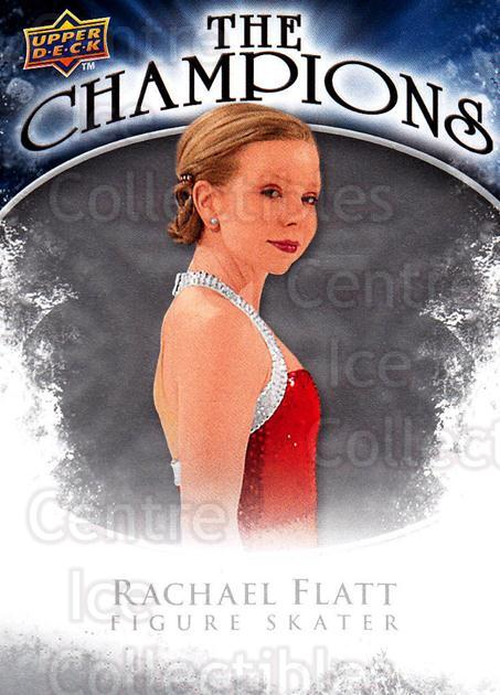 2009-10 Upper Deck The Champions #CHRF Rachael Flatt<br/>1 In Stock - $2.00 each - <a href=https://centericecollectibles.foxycart.com/cart?name=2009-10%20Upper%20Deck%20The%20Champions%20%23CHRF%20Rachael%20Flatt...&quantity_max=1&price=$2.00&code=657492 class=foxycart> Buy it now! </a>