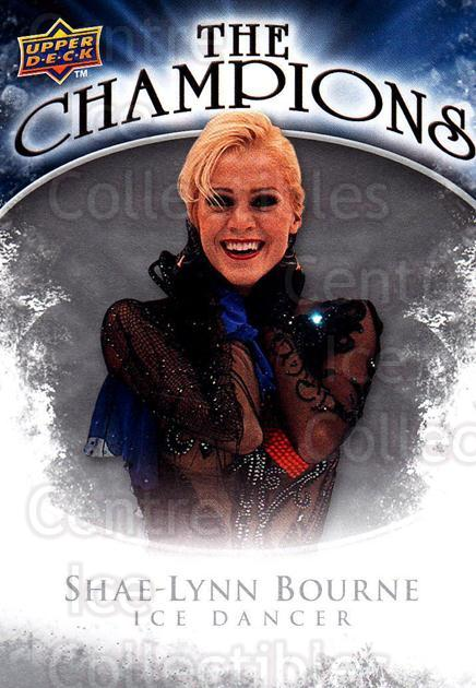 2009-10 Upper Deck The Champions #CHSB Shae-Lynn Bourne<br/>1 In Stock - $2.00 each - <a href=https://centericecollectibles.foxycart.com/cart?name=2009-10%20Upper%20Deck%20The%20Champions%20%23CHSB%20Shae-Lynn%20Bourn...&quantity_max=1&price=$2.00&code=657493 class=foxycart> Buy it now! </a>