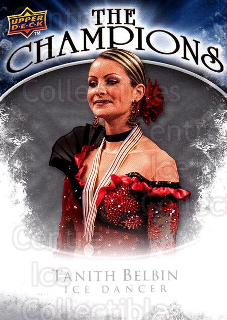 2009-10 Upper Deck The Champions #CHTB Tanith Belbin<br/>1 In Stock - $2.00 each - <a href=https://centericecollectibles.foxycart.com/cart?name=2009-10%20Upper%20Deck%20The%20Champions%20%23CHTB%20Tanith%20Belbin...&quantity_max=1&price=$2.00&code=657496 class=foxycart> Buy it now! </a>