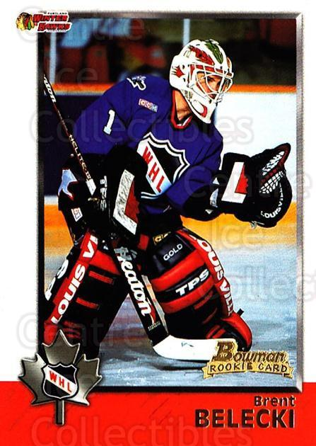 1998 Bowman CHL #41 Brent Belecki<br/>11 In Stock - $1.00 each - <a href=https://centericecollectibles.foxycart.com/cart?name=1998%20Bowman%20CHL%20%2341%20Brent%20Belecki...&quantity_max=11&price=$1.00&code=65754 class=foxycart> Buy it now! </a>