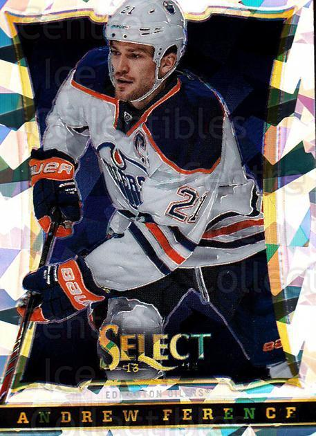2013-14 Select Cracked Ice Toronto Spring Expo #410 Andrew Ference<br/>1 In Stock - $3.00 each - <a href=https://centericecollectibles.foxycart.com/cart?name=2013-14%20Select%20Cracked%20Ice%20Toronto%20Spring%20Expo%20%23410%20Andrew%20Ference...&quantity_max=1&price=$3.00&code=657555 class=foxycart> Buy it now! </a>