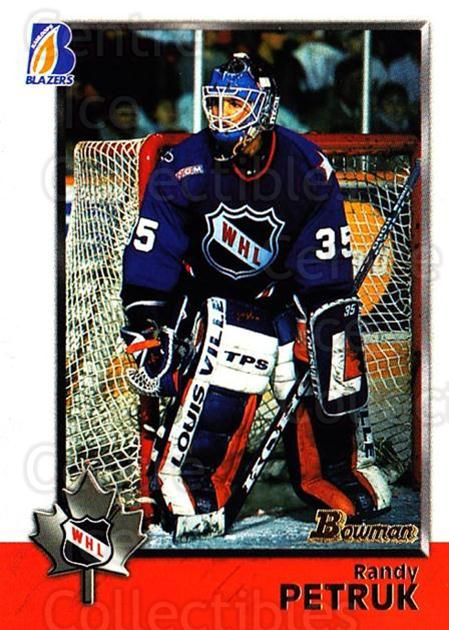 1998 Bowman CHL #42 Randy Petruk<br/>11 In Stock - $1.00 each - <a href=https://centericecollectibles.foxycart.com/cart?name=1998%20Bowman%20CHL%20%2342%20Randy%20Petruk...&quantity_max=11&price=$1.00&code=65755 class=foxycart> Buy it now! </a>