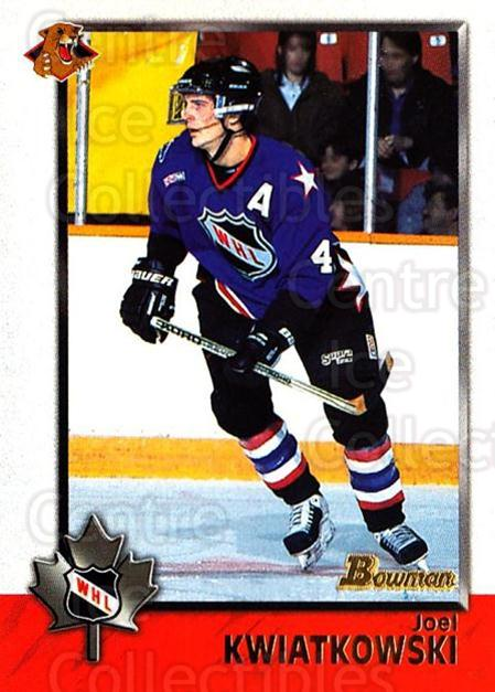 1998 Bowman CHL #45 Joel Kwiatkowski<br/>11 In Stock - $1.00 each - <a href=https://centericecollectibles.foxycart.com/cart?name=1998%20Bowman%20CHL%20%2345%20Joel%20Kwiatkowsk...&quantity_max=11&price=$1.00&code=65758 class=foxycart> Buy it now! </a>