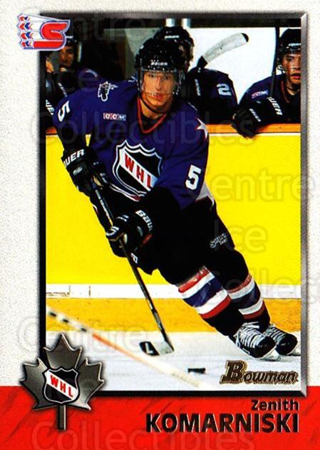1998 Bowman CHL #46 Zenith Komarniski<br/>11 In Stock - $1.00 each - <a href=https://centericecollectibles.foxycart.com/cart?name=1998%20Bowman%20CHL%20%2346%20Zenith%20Komarnis...&quantity_max=11&price=$1.00&code=65759 class=foxycart> Buy it now! </a>