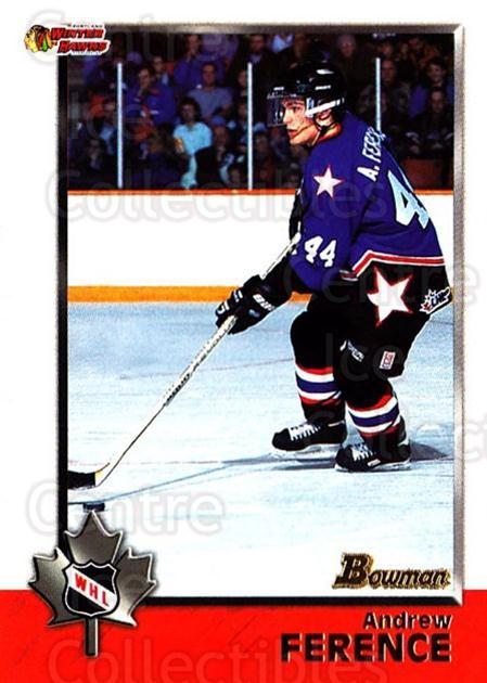 1998 Bowman CHL #48 Andrew Ference<br/>10 In Stock - $1.00 each - <a href=https://centericecollectibles.foxycart.com/cart?name=1998%20Bowman%20CHL%20%2348%20Andrew%20Ference...&quantity_max=10&price=$1.00&code=65761 class=foxycart> Buy it now! </a>