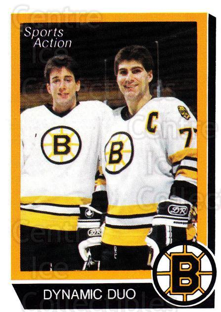 1988-89 Boston Bruins Sports Action Blank Backs #23 Ray Bourque, Cam Neely<br/>3 In Stock - $5.00 each - <a href=https://centericecollectibles.foxycart.com/cart?name=1988-89%20Boston%20Bruins%20Sports%20Action%20Blank%20Backs%20%2323%20Ray%20Bourque,%20Ca...&quantity_max=3&price=$5.00&code=657623 class=foxycart> Buy it now! </a>