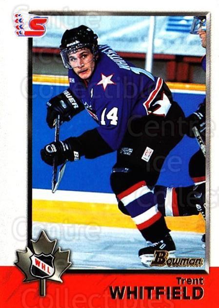 1998 Bowman CHL #50 Trent Whitfield<br/>11 In Stock - $1.00 each - <a href=https://centericecollectibles.foxycart.com/cart?name=1998%20Bowman%20CHL%20%2350%20Trent%20Whitfield...&quantity_max=11&price=$1.00&code=65764 class=foxycart> Buy it now! </a>