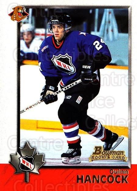 1998 Bowman CHL #57 Quinn Hancock<br/>7 In Stock - $1.00 each - <a href=https://centericecollectibles.foxycart.com/cart?name=1998%20Bowman%20CHL%20%2357%20Quinn%20Hancock...&quantity_max=7&price=$1.00&code=65771 class=foxycart> Buy it now! </a>
