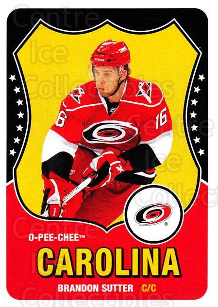 2010-11 O-Pee-Chee Retro #9 Brandon Sutter<br/>1 In Stock - $2.00 each - <a href=https://centericecollectibles.foxycart.com/cart?name=2010-11%20O-Pee-Chee%20Retro%20%239%20Brandon%20Sutter...&price=$2.00&code=657738 class=foxycart> Buy it now! </a>