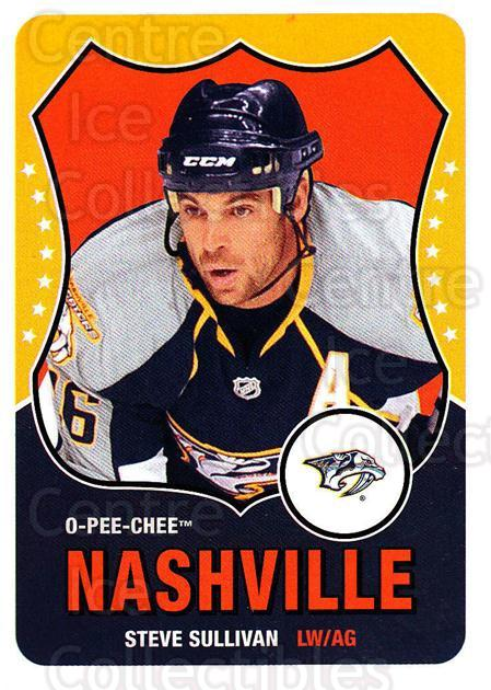 2010-11 O-Pee-Chee Retro #13 Steve Sullivan<br/>3 In Stock - $2.00 each - <a href=https://centericecollectibles.foxycart.com/cart?name=2010-11%20O-Pee-Chee%20Retro%20%2313%20Steve%20Sullivan...&quantity_max=3&price=$2.00&code=657742 class=foxycart> Buy it now! </a>