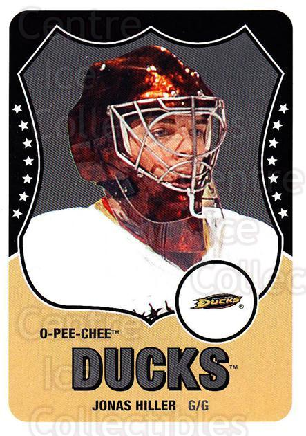 2010-11 O-Pee-Chee Retro #18 Jonas Hiller<br/>1 In Stock - $2.00 each - <a href=https://centericecollectibles.foxycart.com/cart?name=2010-11%20O-Pee-Chee%20Retro%20%2318%20Jonas%20Hiller...&quantity_max=1&price=$2.00&code=657747 class=foxycart> Buy it now! </a>