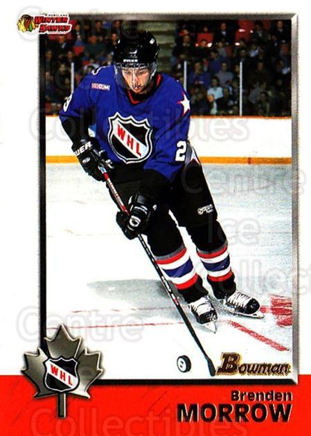 1998 Bowman CHL #60 Brenden Morrow<br/>10 In Stock - $1.00 each - <a href=https://centericecollectibles.foxycart.com/cart?name=1998%20Bowman%20CHL%20%2360%20Brenden%20Morrow...&quantity_max=10&price=$1.00&code=65775 class=foxycart> Buy it now! </a>