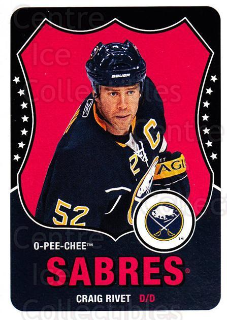2010-11 O-Pee-Chee Retro #37 Craig Rivet<br/>3 In Stock - $2.00 each - <a href=https://centericecollectibles.foxycart.com/cart?name=2010-11%20O-Pee-Chee%20Retro%20%2337%20Craig%20Rivet...&quantity_max=3&price=$2.00&code=657766 class=foxycart> Buy it now! </a>