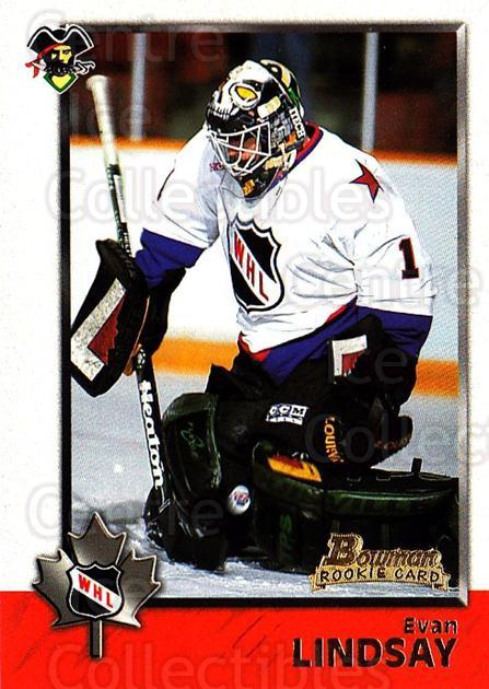 1998 Bowman CHL #61 Evan Lindsay<br/>4 In Stock - $1.00 each - <a href=https://centericecollectibles.foxycart.com/cart?name=1998%20Bowman%20CHL%20%2361%20Evan%20Lindsay...&quantity_max=4&price=$1.00&code=65776 class=foxycart> Buy it now! </a>