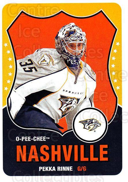 2010-11 O-Pee-Chee Retro #42 Pekka Rinne<br/>3 In Stock - $2.00 each - <a href=https://centericecollectibles.foxycart.com/cart?name=2010-11%20O-Pee-Chee%20Retro%20%2342%20Pekka%20Rinne...&quantity_max=3&price=$2.00&code=657771 class=foxycart> Buy it now! </a>