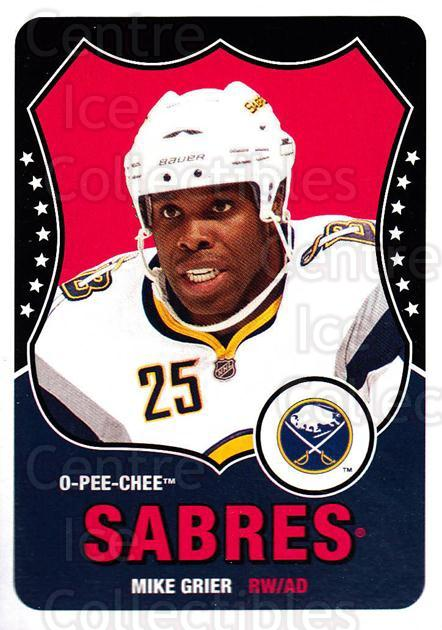 2010-11 O-Pee-Chee Retro #43 Mike Grier<br/>3 In Stock - $2.00 each - <a href=https://centericecollectibles.foxycart.com/cart?name=2010-11%20O-Pee-Chee%20Retro%20%2343%20Mike%20Grier...&quantity_max=3&price=$2.00&code=657772 class=foxycart> Buy it now! </a>