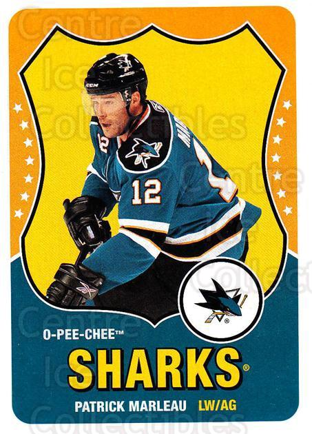 2010-11 O-Pee-Chee Retro #66 Patrick Marleau<br/>3 In Stock - $2.00 each - <a href=https://centericecollectibles.foxycart.com/cart?name=2010-11%20O-Pee-Chee%20Retro%20%2366%20Patrick%20Marleau...&quantity_max=3&price=$2.00&code=657795 class=foxycart> Buy it now! </a>