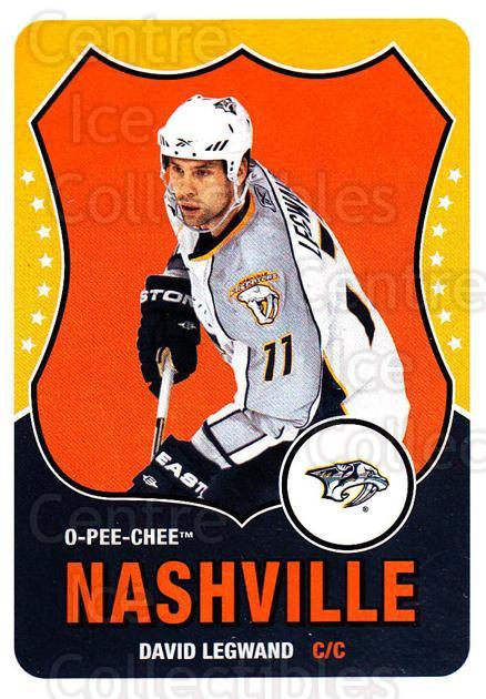2010-11 O-Pee-Chee Retro #91 David Legwand<br/>3 In Stock - $2.00 each - <a href=https://centericecollectibles.foxycart.com/cart?name=2010-11%20O-Pee-Chee%20Retro%20%2391%20David%20Legwand...&quantity_max=3&price=$2.00&code=657820 class=foxycart> Buy it now! </a>