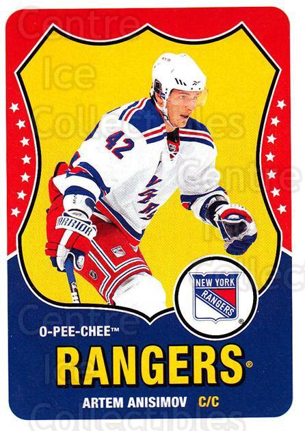 2010-11 O-Pee-Chee Retro #96 Artem Anisimov<br/>3 In Stock - $2.00 each - <a href=https://centericecollectibles.foxycart.com/cart?name=2010-11%20O-Pee-Chee%20Retro%20%2396%20Artem%20Anisimov...&quantity_max=3&price=$2.00&code=657825 class=foxycart> Buy it now! </a>