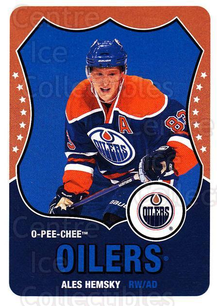 2010-11 O-Pee-Chee Retro #99 Ales Hemsky<br/>2 In Stock - $2.00 each - <a href=https://centericecollectibles.foxycart.com/cart?name=2010-11%20O-Pee-Chee%20Retro%20%2399%20Ales%20Hemsky...&quantity_max=2&price=$2.00&code=657828 class=foxycart> Buy it now! </a>