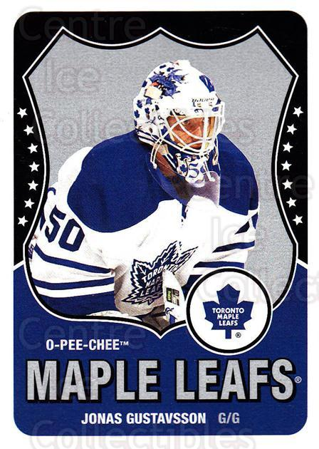 2010-11 O-Pee-Chee Retro #105 Jonas Gustavsson<br/>1 In Stock - $2.00 each - <a href=https://centericecollectibles.foxycart.com/cart?name=2010-11%20O-Pee-Chee%20Retro%20%23105%20Jonas%20Gustavsso...&quantity_max=1&price=$2.00&code=657834 class=foxycart> Buy it now! </a>