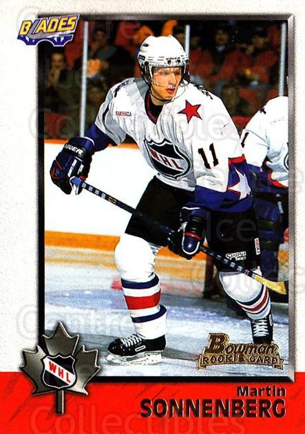 1998 Bowman CHL #69 Martin Sonnenberg<br/>10 In Stock - $1.00 each - <a href=https://centericecollectibles.foxycart.com/cart?name=1998%20Bowman%20CHL%20%2369%20Martin%20Sonnenbe...&quantity_max=10&price=$1.00&code=65784 class=foxycart> Buy it now! </a>
