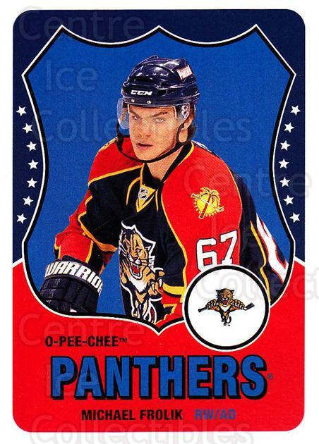 2010-11 O-Pee-Chee Retro #142 Michael Frolik<br/>3 In Stock - $2.00 each - <a href=https://centericecollectibles.foxycart.com/cart?name=2010-11%20O-Pee-Chee%20Retro%20%23142%20Michael%20Frolik...&quantity_max=3&price=$2.00&code=657871 class=foxycart> Buy it now! </a>