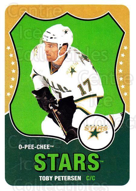 2010-11 O-Pee-Chee Retro #158 Toby Petersen<br/>3 In Stock - $2.00 each - <a href=https://centericecollectibles.foxycart.com/cart?name=2010-11%20O-Pee-Chee%20Retro%20%23158%20Toby%20Petersen...&quantity_max=3&price=$2.00&code=657887 class=foxycart> Buy it now! </a>