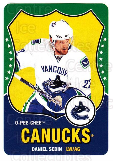 2010-11 O-Pee-Chee Retro #170 Daniel Sedin<br/>3 In Stock - $2.00 each - <a href=https://centericecollectibles.foxycart.com/cart?name=2010-11%20O-Pee-Chee%20Retro%20%23170%20Daniel%20Sedin...&quantity_max=3&price=$2.00&code=657899 class=foxycart> Buy it now! </a>