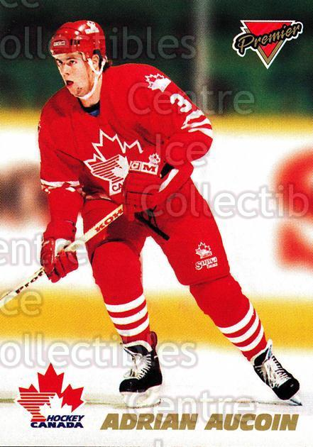 1993-94 OPC Premier Team Canada #3 Adrian Aucoin<br/>9 In Stock - $2.00 each - <a href=https://centericecollectibles.foxycart.com/cart?name=1993-94%20OPC%20Premier%20Team%20Canada%20%233%20Adrian%20Aucoin...&quantity_max=9&price=$2.00&code=6578 class=foxycart> Buy it now! </a>