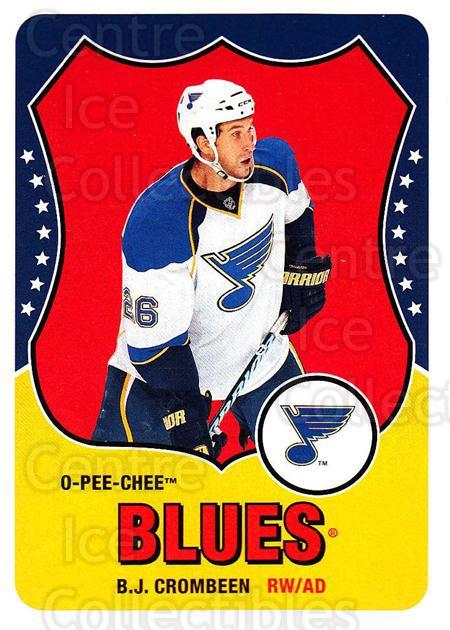 2010-11 O-Pee-Chee Retro #176 BJ Crombeen<br/>3 In Stock - $2.00 each - <a href=https://centericecollectibles.foxycart.com/cart?name=2010-11%20O-Pee-Chee%20Retro%20%23176%20BJ%20Crombeen...&quantity_max=3&price=$2.00&code=657905 class=foxycart> Buy it now! </a>