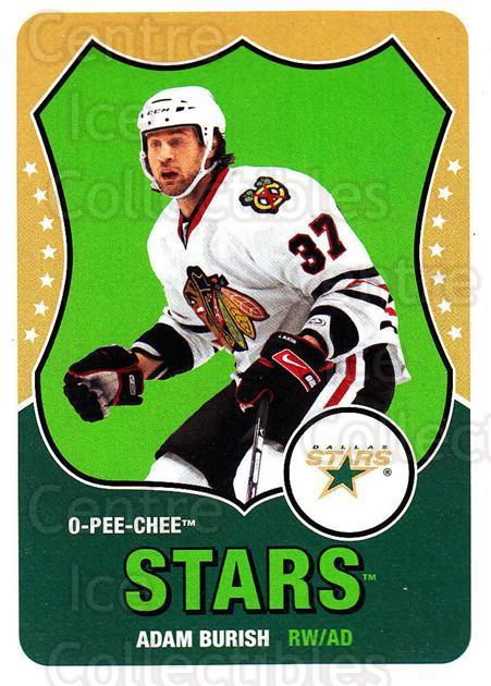 2010-11 O-Pee-Chee Retro #197 Adam Burish<br/>2 In Stock - $2.00 each - <a href=https://centericecollectibles.foxycart.com/cart?name=2010-11%20O-Pee-Chee%20Retro%20%23197%20Adam%20Burish...&quantity_max=2&price=$2.00&code=657926 class=foxycart> Buy it now! </a>