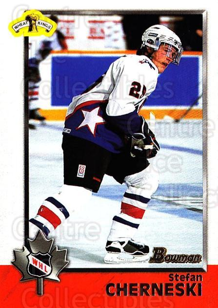 1998 Bowman CHL #76 Stefan Cherneski<br/>11 In Stock - $1.00 each - <a href=https://centericecollectibles.foxycart.com/cart?name=1998%20Bowman%20CHL%20%2376%20Stefan%20Chernesk...&quantity_max=11&price=$1.00&code=65792 class=foxycart> Buy it now! </a>