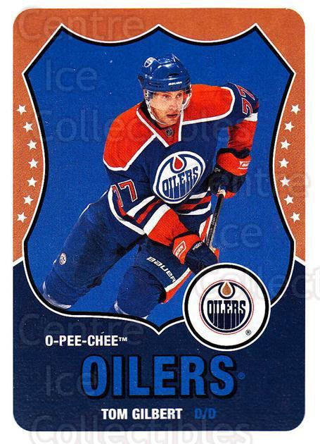 2010-11 O-Pee-Chee Retro #218 Tom Gilbert<br/>3 In Stock - $2.00 each - <a href=https://centericecollectibles.foxycart.com/cart?name=2010-11%20O-Pee-Chee%20Retro%20%23218%20Tom%20Gilbert...&quantity_max=3&price=$2.00&code=657947 class=foxycart> Buy it now! </a>