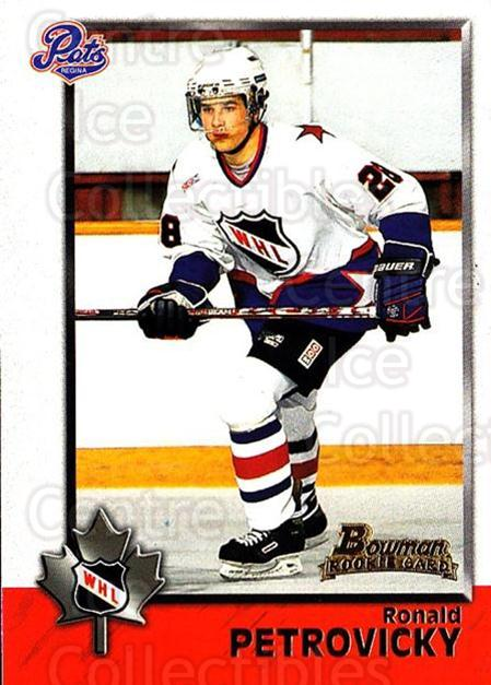 1998 Bowman CHL #78 Ronald Petrovicky<br/>9 In Stock - $1.00 each - <a href=https://centericecollectibles.foxycart.com/cart?name=1998%20Bowman%20CHL%20%2378%20Ronald%20Petrovic...&quantity_max=9&price=$1.00&code=65794 class=foxycart> Buy it now! </a>