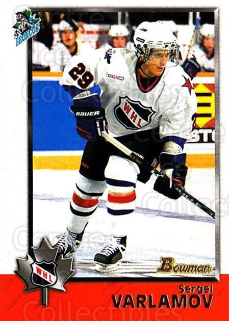 1998 Bowman CHL #79 Sergei Varlamov<br/>10 In Stock - $1.00 each - <a href=https://centericecollectibles.foxycart.com/cart?name=1998%20Bowman%20CHL%20%2379%20Sergei%20Varlamov...&quantity_max=10&price=$1.00&code=65795 class=foxycart> Buy it now! </a>