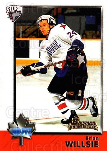 1998 Bowman CHL #8 Brian Willsie<br/>9 In Stock - $1.00 each - <a href=https://centericecollectibles.foxycart.com/cart?name=1998%20Bowman%20CHL%20%238%20Brian%20Willsie...&quantity_max=9&price=$1.00&code=65796 class=foxycart> Buy it now! </a>