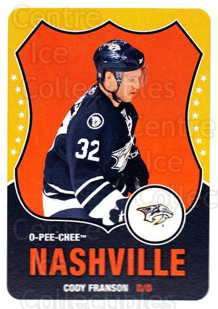 2010-11 O-Pee-Chee Retro #248 Cody Franson<br/>3 In Stock - $2.00 each - <a href=https://centericecollectibles.foxycart.com/cart?name=2010-11%20O-Pee-Chee%20Retro%20%23248%20Cody%20Franson...&quantity_max=3&price=$2.00&code=657977 class=foxycart> Buy it now! </a>