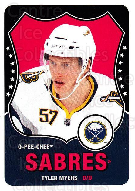 2010-11 O-Pee-Chee Retro #256 Tyler Myers<br/>2 In Stock - $2.00 each - <a href=https://centericecollectibles.foxycart.com/cart?name=2010-11%20O-Pee-Chee%20Retro%20%23256%20Tyler%20Myers...&quantity_max=2&price=$2.00&code=657985 class=foxycart> Buy it now! </a>