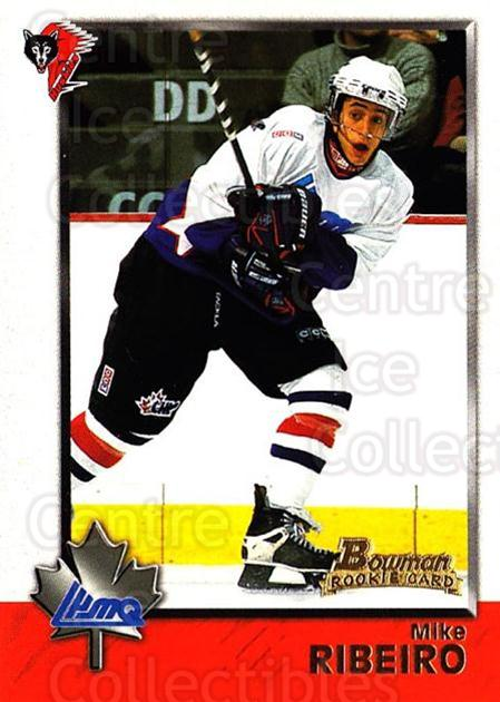 1998 Bowman CHL #85 Mike Ribeiro<br/>11 In Stock - $1.00 each - <a href=https://centericecollectibles.foxycart.com/cart?name=1998%20Bowman%20CHL%20%2385%20Mike%20Ribeiro...&quantity_max=11&price=$1.00&code=65801 class=foxycart> Buy it now! </a>