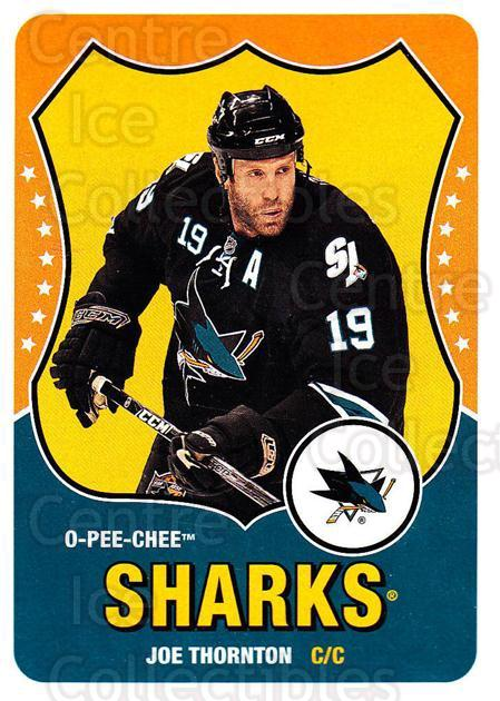 2010-11 O-Pee-Chee Retro #291 Joe Thornton<br/>3 In Stock - $2.00 each - <a href=https://centericecollectibles.foxycart.com/cart?name=2010-11%20O-Pee-Chee%20Retro%20%23291%20Joe%20Thornton...&quantity_max=3&price=$2.00&code=658020 class=foxycart> Buy it now! </a>