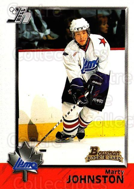 1998 Bowman CHL #86 Marty Johnston<br/>11 In Stock - $1.00 each - <a href=https://centericecollectibles.foxycart.com/cart?name=1998%20Bowman%20CHL%20%2386%20Marty%20Johnston...&quantity_max=11&price=$1.00&code=65802 class=foxycart> Buy it now! </a>