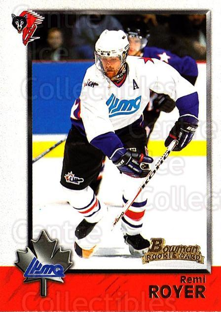 1998 Bowman CHL #87 Remi Royer<br/>7 In Stock - $1.00 each - <a href=https://centericecollectibles.foxycart.com/cart?name=1998%20Bowman%20CHL%20%2387%20Remi%20Royer...&quantity_max=7&price=$1.00&code=65803 class=foxycart> Buy it now! </a>