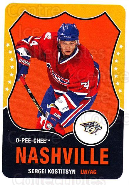 2010-11 O-Pee-Chee Retro #312 Sergei Kostitsyn<br/>3 In Stock - $2.00 each - <a href=https://centericecollectibles.foxycart.com/cart?name=2010-11%20O-Pee-Chee%20Retro%20%23312%20Sergei%20Kostitsy...&quantity_max=3&price=$2.00&code=658041 class=foxycart> Buy it now! </a>