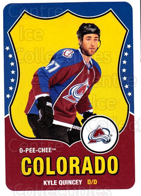 2010-11 O-Pee-Chee Retro #323 Kyle Quincey<br/>3 In Stock - $2.00 each - <a href=https://centericecollectibles.foxycart.com/cart?name=2010-11%20O-Pee-Chee%20Retro%20%23323%20Kyle%20Quincey...&quantity_max=3&price=$2.00&code=658052 class=foxycart> Buy it now! </a>